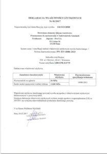 Leistungserklärung und CE-Kennzeichnung